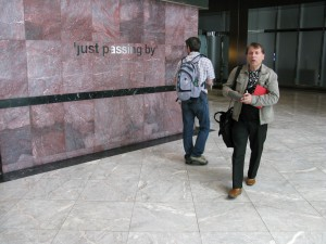 """Just passing by"", Canary Wharf Group Exhibition"